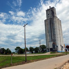 11 jun 13 1 (19) (beihouphotography) Tags: square grain kansas fujifilm format elevators x10 meriden