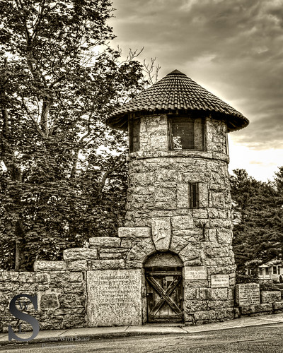 Milford Old tower by bridge-