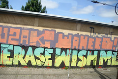 graffiti (wojofoto) Tags: holland graffiti nederland netherland wish erase trackside wojofoto