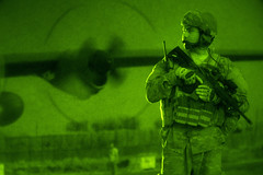 Night watch (Official U.S. Air Force) Tags: afghanistan night fast security