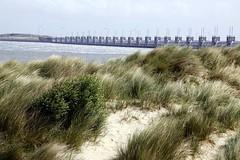 Oosterscheldekering (GLOBI ۞ FUZZI) Tags: holland beach netherlands strand nederland zeeland information nordsee plage paysbas niederlande dünen oosterscheldekering debanjaard noordbeveland