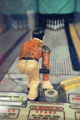 Bowling Game (geoftheref) Tags: usa game sports sport museum america vintage video san francisco pin mechanical 10 united arcade games retro musee bowling ten states mechanique geoftheref