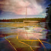 >>> designs of summer <<< (xandram) Tags: summer lake water clouds photoshop weeds nh canaan texturesmyown