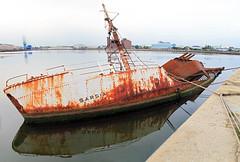 Published In The Liverpool Echo 3/10/2013 (David Chennell) Tags: rusty shipwreck birkenhead wirral merseyside birkenheaddocks sarsia merseyshipping