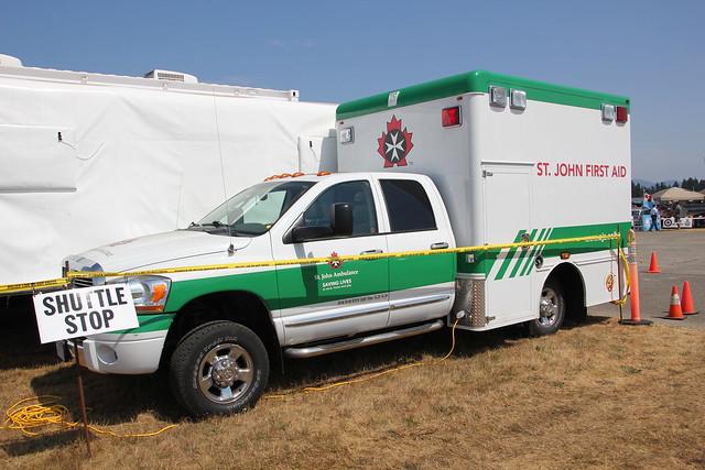 canada st john columbia ambulance dodge british ram abbotsford marked