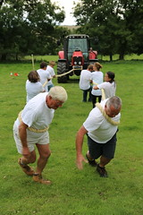 Tractor Pull  237/365 (rmrayner) Tags: rural 365 day237 ashcombe holcombe sillygames 365project ideford 237365 ashcombecottages 3652013 365the2013edition villageolympics2013 ashcombevillagehall
