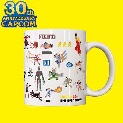 知名電玩公司『卡普空 CAPCOM』30週年紀念商品公開!