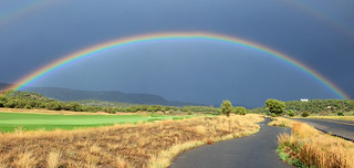 Rainbow in Heber Valley.