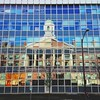 Old Reflected In The New (AnthonyTulliani) Tags: school cambridge reflection building boston architecture mirror mit iphone mobilephotography iphoneography vscocam