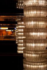 edmonton lrt.corona lights (LS Lam) Tags: travel canada station train underground lights nikon downtown edmonton july ab system chandelier corona alberta transportation transit lightrail prairies lrt ets d60 2013