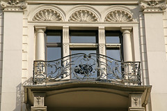 Wiesbaden, Taunusstrae, Balkon (balcony) (HEN-Magonza) Tags: wiesbaden hessen balcony balkon hesse taunusstrase