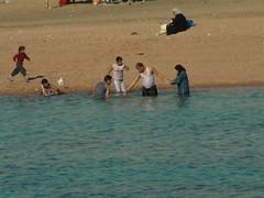 En la playa del Mar Rojo. Aqaba. Jordania (escandio) Tags: aqaba 2007 jordania marrojo
