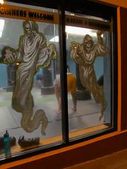 Ghostly Exercises (prima seadiva) Tags: halloween cd karate madison ghosts kickboxing centraldistrict centralarea martialartsstudio