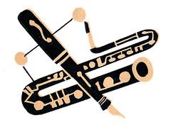Coda bassoon fountain pen 1945 jim flora (Al Q) Tags: records art fountain pen magazine flora jim columbia 1945 promotional coda bassoon masterworks