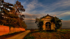 place to pray (rinogas) Tags: autumn sunset italy evening piemonte lunaphoto slicesoftime rinogas mygearandme inspiringcreativeminds