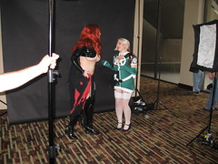 Rogue and Madelyne Pryor (media.exegesis) Tags: dragoncon2013 marvelphotoshoot rogue madelynepryor dc2013