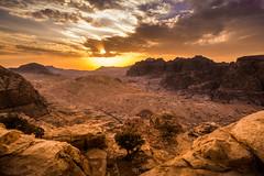 Petra - High place of sacrifice (arts-loi) Tags: sunset landscape desert petra jordan highplaceofsacrifice