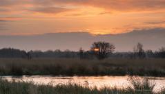 Winters day sunrise Bargerveen (Kees Waterlander) Tags: nederland filters drenthe zonsopkomst natuurgebieden bargerveen klazienaveen