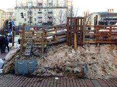 L'anatomia delle barricate-I (GrusiaKot) Tags: people snow ukraine protesta piazza ukrainian kiev  maidan ukraina manifestazione  ucraina maydan  majdan  2013 autogestione barricate piazzaindipendenza kyjiv khreschatik