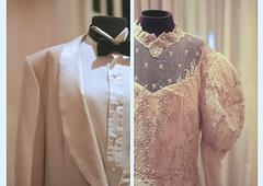 Twenty-two. (flobero) Tags: wedding detail groom bride gown beaded florencesison