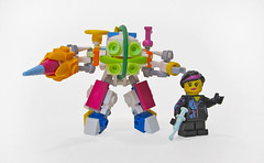 Pastel Big Daddy & Wyldstyle Sister (Imagine™) Tags: lego pastel wyldstyle bioshock legomovie imaginerigney