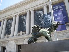Guardian Lion Sculpture (shaire productions) Tags: sculpture art metal bronze asian japanese artwork chinese lion style creation korean oriental sculpted detailed fudog foodog guardianlion