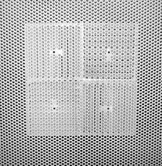 bathroom ceiling vent patterns (SA_Steve) Tags: bathroom pattern patterns restroom