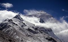 Tibet_2004_096 Everest and Changtse (SC-8) (Roger Nix's Travel Collection) Tags: mountain peak tibet summit himalaya everest rongbuk