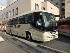 日本交通 (izayuke_tarokaja) Tags: hino jbus セレガ 日本交通 セレガーラ