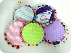 Alfifofos Variados (Sonhos de Biscuit, by Kenynha M.) Tags: cupcake scrap costura alfinetes sewingpins