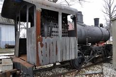 Defiance, Ohio (6 photos) (Bob McGilvray Jr.) Tags: railroad museum train display tracks engine steam locomotive coal 1929 steamlocomotive defianceohio vulcanironworks 040st wheelingsteel auglaizevillageandhistoricfarmmuseum