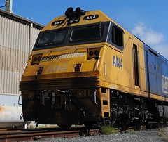 AN4 - Clean Me! (Grum(by)) Tags: coco locomotive portkembla pacificnational dieselelectric an4 rpauanclass railpage:class=38 railpage:loco=an4 rpauanclassan4