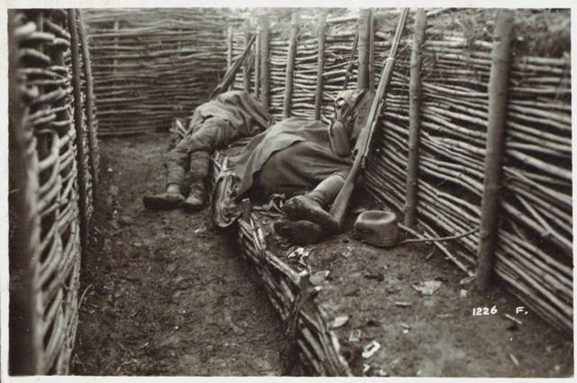 Un meritato riposo, 1917, Roma, Museo Centrale del Risorgimento