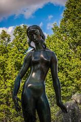 Cranbrook Statue (Warren Parsons) Tags: sculpture art statue metal bronze decorative carving cranbrook statuary