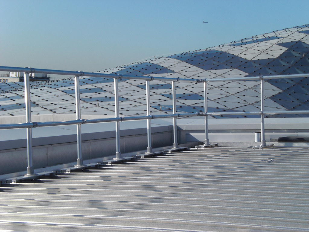 Railing For Standing Seam Keeguard For Standing Seam