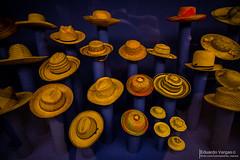 (. . .) Tags: chile santiago colors hat de angle centro wide gran sombrero gabriela angular 11mm cultural exposicion mistral