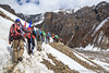 Trekking In the Himalayas, Thorung Phedi, Annapurna Circuit, Nepal (Feng Wei Photography) Tags: travel nepal mountain snow color horizontal trek landscape asia outdoor scenic hike remote lonely np annapurnacircuit annapurna himalayas trekker manang gandaki thorungphedi westernregion annapurnahimal annapurnaconservationarea