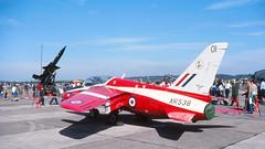 Diminutive (likrwy) Tags: aircraft aviation jet royal kodachrome airforce bloodhound gnat raf folland 4fts xr538 flyingtrainingschool