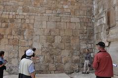 Ophel Ausgrabung  an der Sdmauer mit der groen Frei-Treppe (Otto_Friedrich45) Tags: von alexander schick ophel jerusalemaltstadt tempelbergundwarrentunnel rekonstrucktionszeichnungen archologischereise2010