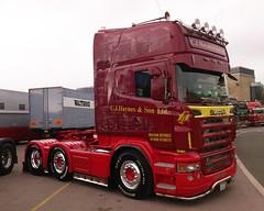 C.J.Haynes Scania R620 V8 (71B / 70F ( Ex Jibup )) Tags: truck cab wheels lorry chassis v8 tyres sleeper scania haulage r500 topline fifthwheel sleepercab axles r620 r480 143m