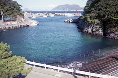 (GenJapan1986) Tags: 2015            tokyo japan film  island travel  shikinejima sea pacificocean landscape
