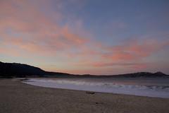 Sunrise on Carmel River Beach/2/12/2015 (LOLO Italiana) Tags: ca seascape beach nature sunrise landscape sand pacificocean carmel carmelriverbeach earlymorninglight oceanwaves