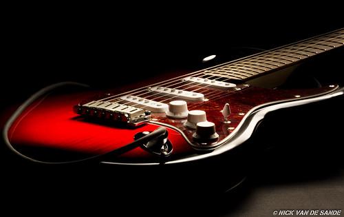 Guitar lightpaint