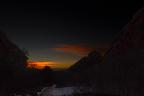 Dawn Breaks at Red Rocks