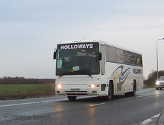 Holloways, Scunthorpe. (Hesterjenna Photography) Tags: bus volvo coach lincolnshire passengers premiere schoolbus coaches scunthorpe sovereign psv holloways northlincolnshire plaxton b10m ke51wuo mji5763