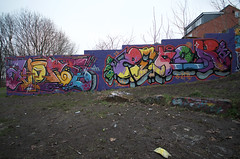 Klone / Zenor (tombomb20) Tags: park street art wall graffiti paint tag leeds spray hyde graff klone 2061 rosebank tfa 2015 zenor tombomb20 zenor2061 klonism