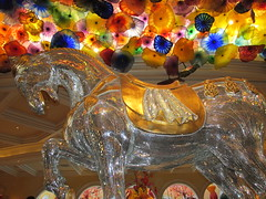 Bellagio Horse Chihuly Glass Art (Nancy D. Brown) Tags: horse chihuly glass lasvegas nevada bellagio