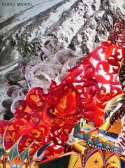 AVALANCHE SUR LA VILLE (KOHLI MICHEL) Tags: art collage arte nieve neige avalanche alud artkohli