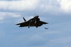 "Lockheed Martin F-22A Raptors 05-4084/TY 05-4095/TY""95FS"" (NTG's pictures) Tags: force martin air united lockheed usaf base raptors raf lakenheath 325fw f22a tyndal staes 054095ty95fs 054084ty"