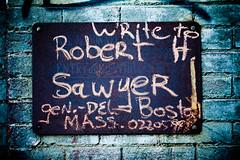 Write to Robert H Sawyer (Thomas Hawk) Tags: usa boston unitedstates massachusetts unitedstatesofamerica newengland beantown fav10 robertsawyer roberthsawyer